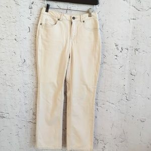 COLDWATER CREEK CREAM PANTS P4